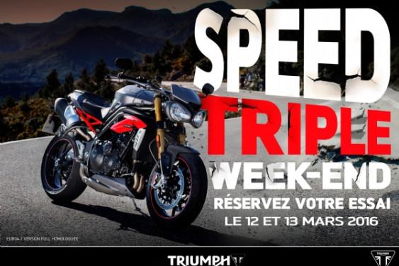 WEEK END SPEED TRIPLE S ET R 2016